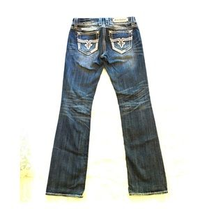 Women's Rock Revival BootCut Jeans